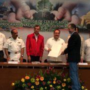 Entregan a Granjas Carroll certificado Industria Limpia de Planta de Alimentos