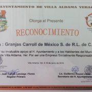 Reconoce Ayuntamiento labor social de GCM